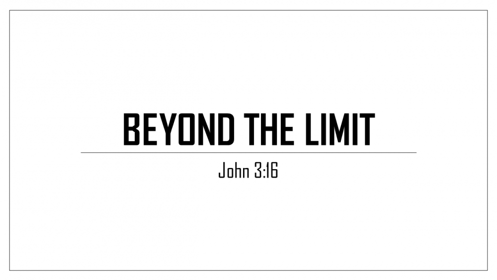 Beyond The Limit Image